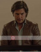 American Made Tom Cruise (Barry Seal) Leather Blazer