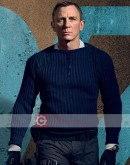 No Time To Die Daniel Craig (James Bond) Blue Sweater