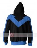 Batman Arkham Knight Dick Grayson (Nightwing) Hoodie Jacket
