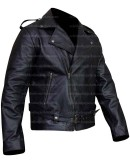 Cry Baby Johnny Depp Black Leather Jacket