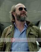 Narcos Bill Stechner (Eric Lange) Green Jacket
