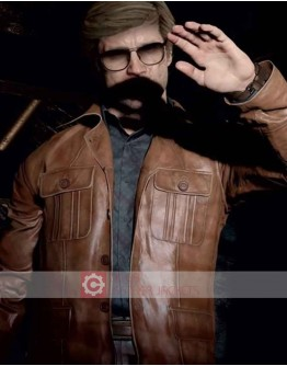 Call of Duty Black Ops Russell Adler Leather Jacket