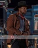 The Harder They Fall Jonathan Majors (Nat Love) Leather Jacket