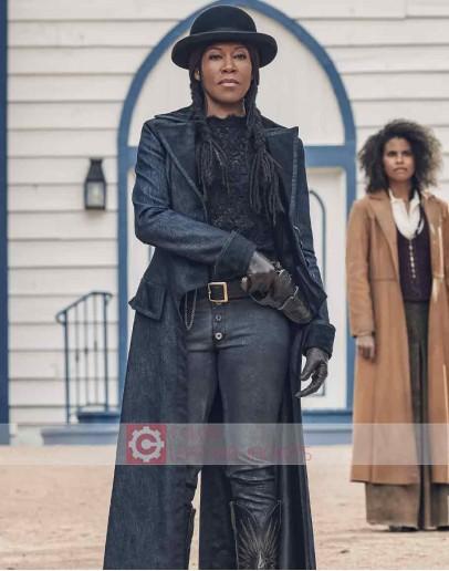 The Harder They Fall Regina King Trench Coat
