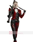 The Suicide Squad Margot Robbie (Harley Quinn) Leather Costume