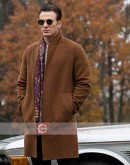 Knives Out Chris Evans (Ransom Drysdale) Wool Coat