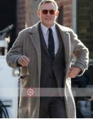 Knives Out Daniel Craig (Benoit Blanc) Wool Coat