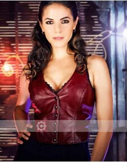 Lost Girl Anna Silk (Bo Dennis) Leather Vest