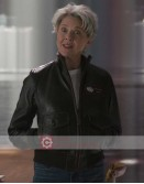 Captain Marvel Annette Bening (Wendy Lawson) Leather Jacket