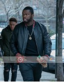 Power 50 Cent (Kanan) Black Leather Jacket