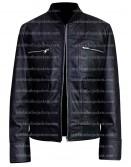 The Other Guys Dwayne Johnson Bomber Leather Jacket