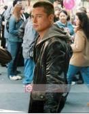 Mr & Mrs. Smith Brad Pitt (John Smith) Leather Jacket