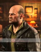 Uncharted 4 Graham Mctavish (Charlie Cutter) Leather Jacket