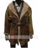 Hell On Wheels Cullen Bohannon (Anson Mount) Brown Trench Coat