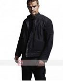 Divergent Four (Theo James) Black Leather Jacket