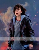 Godzilla king of the Monsters Madison Russell (Millie Bobby Brown) Leather Jacket