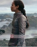 Lost In Space Judy Robbinson (Taylor Russell) Leather Jacket