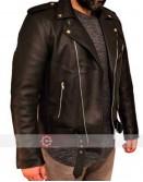 Scott Pilgrim vs. the World Lucas Lee (Chris Evans) Brown Leather Jacket