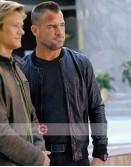 MacGyver Jack Dalton (George Eads) Black Leather Jacket