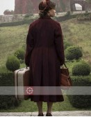 Voice From The Stone Verena (Emilia Clarke) Trench Coat