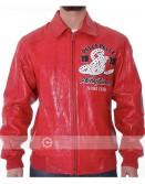 Pelle Pelle Soda Club Red Leather Jacket
