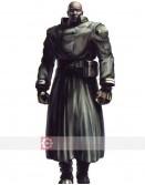 Resident Evil 2 The Tyrant Black Costume Leather Jacket