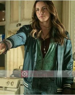 Ash Vs Evil Dead Brandy Bar (Arielle Carver-O'Neill) Leather Jacket