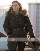 The Mountain Between Us Kate Winslet Brown Cotton Jacket