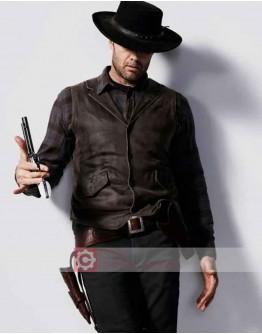 Fear the Walking Dead Garret Dillahunt (John Dorie) Leather Vest