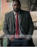 Luther Idris Elba (DCI John Luther) Wool Coat