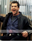 Lethal Weapon Mel Gibson (Martin Riggs) Leather Jacket