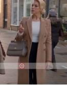 Ted Lasso Hannah Waddingham (Rebecca Welton) Trench Coat