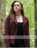 Legacies Danielle Rose Russell (Hope Mikaelson) Suede Jacket