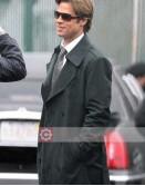 Moneyball Brad Pitt (Billy Beane) Trench Coat