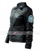 Top Gun Kelly McGillis Leather Jacket