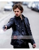 Braquo Nicolas Duvauchelle Leather Jacket