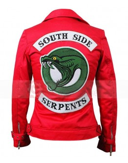 Riverdale Southside Serpents Cheryl Blossom Red jacket