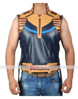 Avengers Infinity War Thanos (Josh Brolin) Costume Leather Vest