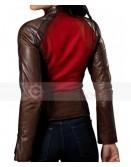 Blade Trinity Jessica Biel (Abigail Whistler) Leather Jacket