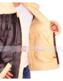 Dunkirk Tom Hardy Farrier Leather Jacket