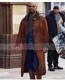 Jamie Foxx Robin Hood Petit Jean Trench Costume Coat
