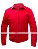 Jim Stark Rebel Without A Cause James Dean Red Jacket