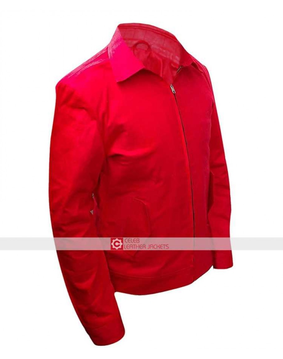 37c774df461 Jim Stark Rebel Without A Cause James Dean Red Jacket