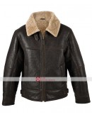 Men RAF Aviator B3 Genuine Leather Jacket