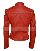 Minority Report Meagan Good Lara Vega Red Jacket