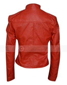 Minority Report Meagan Good Lara Vega Red Jacket