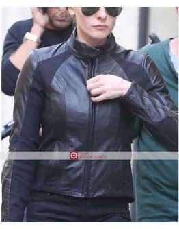 Mission Impossible Fallout Rebecca Ferguson Leather Jacket