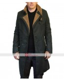 Blade Runner 2049 Ryan Gosling Cotton Fur Trench Coat