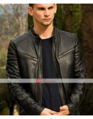 Overdrive Freddie Thorp Garrett Foster Black Leather Jacket