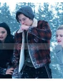 Riverdale Jughead Jones Cole Sprouse Red Fur Jacket